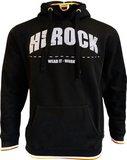 23MSW1602 HEROCK NYX Sweater met capuchon zwart BEDRUKKEN
