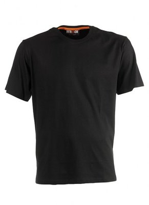HEROCK ARGO T-Shirt ZWART korte mouwen BEDRUKKEN