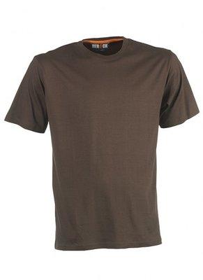 HEROCK ARGO T-Shirt BRUIN korte mouwen BEDRUKKEN