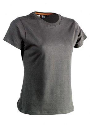 SHEROCK EPONA T-Shirt GRIJS korte mouwen BEDRUKKEN