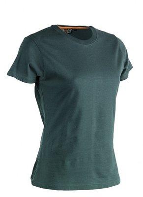 SHEROCK EPONA T-Shirt GROEN korte mouwen BEDRUKKEN