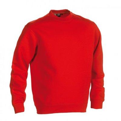 HEROCK VIDAR Sweater ROOD BEDRUKKEN