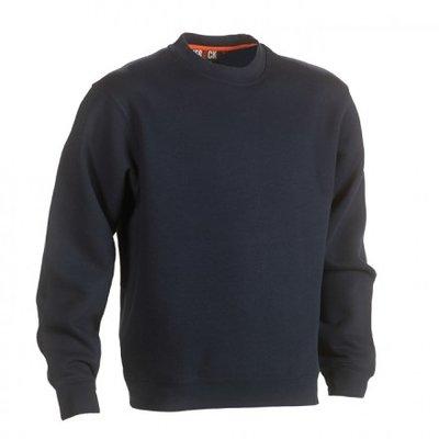 HEROCK VIDAR Sweater NAVY BEDRUKKEN
