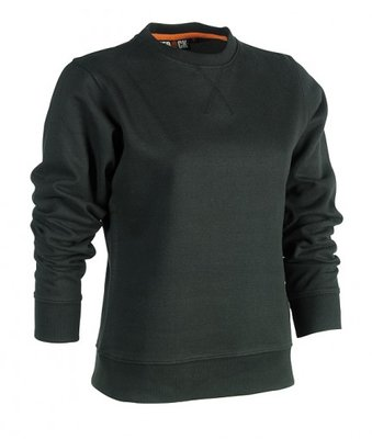 SHEROCK HEMERA SWEATER ZWART BORDUREN