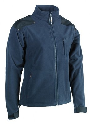 SHEROCK HERA FLEECE JAS NAVY BORDUREN