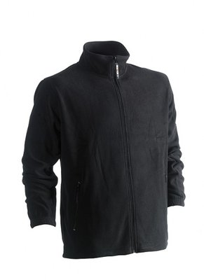 HEROCK DARIUS FLEECE VEST ZWART BORDUREN