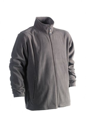 HEROCK DARIUS FLEECE VEST GRIJS BORDUREN