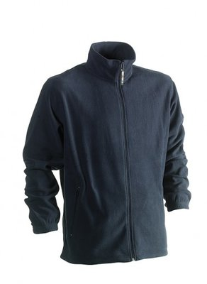 HEROCK DARIUS FLEECE VEST NAVY BORDUREN