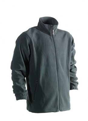 HEROCK DARIUS FLEECE VEST GROEN BORDUREN