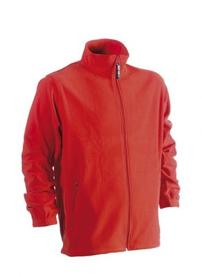 HEROCK DARIUS FLEECE VEST ROOD BORDUREN