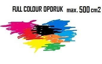 BEDRUKKEN LOGO FULL COLOUR MAX. 500 cm2