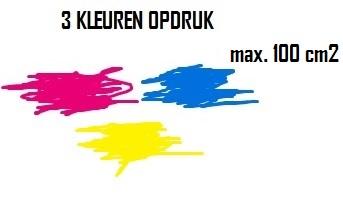 BEDRUKKEN 3 KLEUREN MAX. 100 cm2