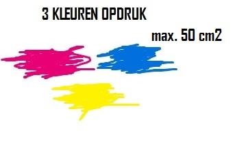 BEDRUKKEN 3 KLEUREN MAX. 50 cm2