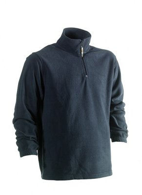HEROCK ANTALUS FLEECE SWEATER NAVY BORDUREN