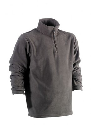 HEROCK ANTALUS FLEECE SWEATER GRIJS BORDUREN