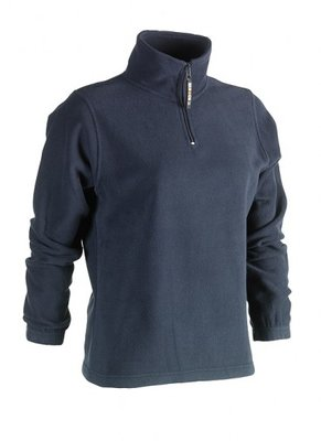 SHEROCK AURORA FLEECE SWEATER NAVY BORDUREN
