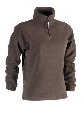SHEROCK AURORA FLEECE SWEATER BRUIN BORDUREN