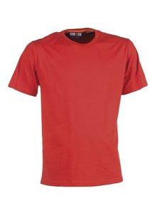 21MTS0901 ARGO T-Shirt ROOD korte mouwen BEDRUKKEN