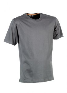 21MTS0901 HEROCK  ARGO T-Shirt GRIJS korte mouwen BEDRUKKEN
