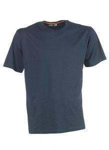 21MTS0901 HEROCK ARGO T-Shirt NAVY korte mouwen BEDRUKKEN