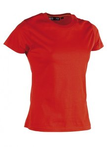 21FTS0901 EPONA T-Shirt ROOD korte mouwen BEDRUKKEN