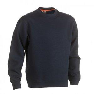 21MSW1401 HEROCK VIDAR Sweater NAVY BEDRUKKEN in Ede