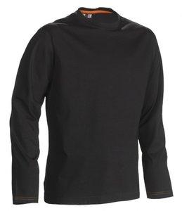 21MTS1201 HEROCK NOET T-SHIRT lange mouwen ZWART BEDRUKKEN shirts snel