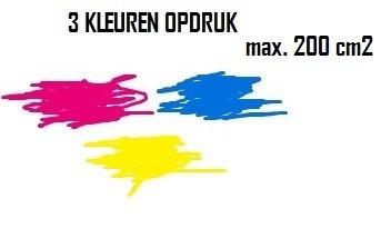 BEDRUKKEN 3 KLEUREN MAX. 200 cm2